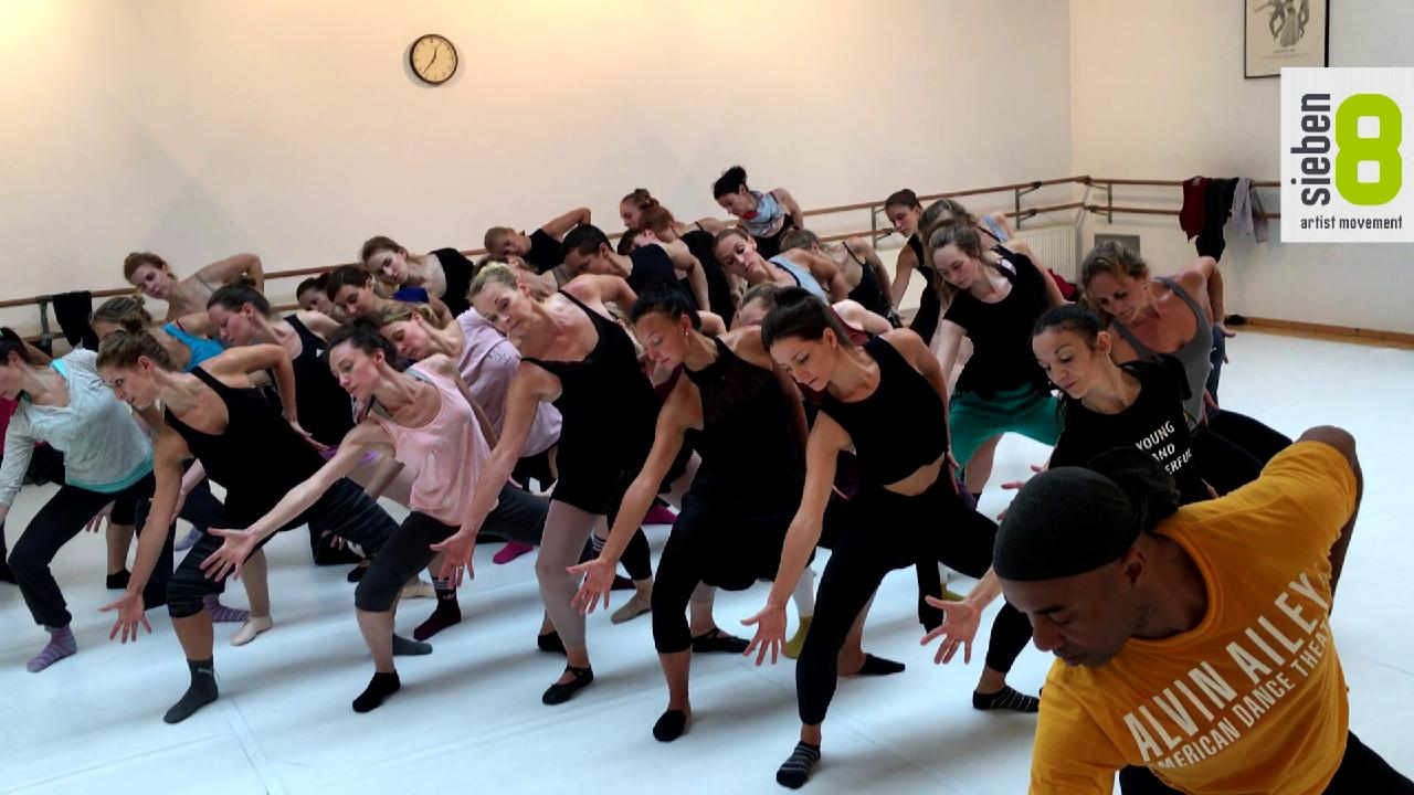 sieben8 Alvin Ailey Dance Theater MASTERCLASS